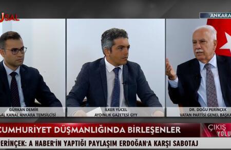 Doğu Perinçek: Dersim'in gündeme getirilmesi Tayyip Erdoğan'a karşı sabotajdır